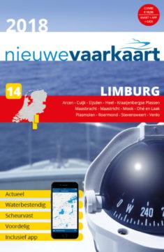 Nieuwe vaarkaart waterkaart; Limburg incl. mobiele vaar app
