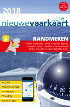 Nieuwe vaarkaart waterkaart; Randmeren incl. mobiele vaar app